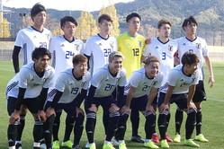 U-22日本代表は広島との練習試合で最終調整【写真:Football ZONE web】