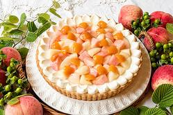 """10日間ごとに異なる""""桃のタルト""""が次々登場!キル フェ ボンで7月に開催される「ピーチ PARTY!」が楽しみ♡"""