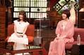 18日放送のバラエティー『さんまのまんま初夏SP』に出演する(左から)日高里菜、花澤香菜(C)カンテレ