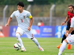 U-21日本代表MF中山雄太