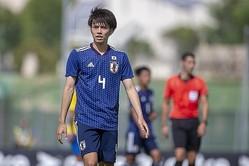 10月のブラジル戦で2得点を挙げた田中碧。クラブでも好調を維持していたが……。(※写真は6月のトゥーロン国際大会)。(C) Getty Images