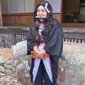 吉本新喜劇の座長・酒井藍が禰豆子コスプレ ファンからツッコミ