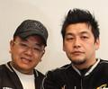 サンドウィッチマンの富澤たけし(右)と伊達みきお