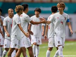 2連勝を飾ったU-21日本代表