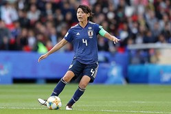 日本女子代表・熊谷紗希【写真:Getty Images】