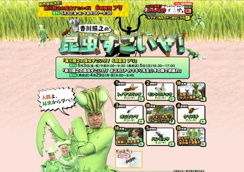 「香川照之の昆虫すごいぜ!」最新回は『アリ』、体を張って捕獲にチャレンジ NHK・Eテレで5月3日放送