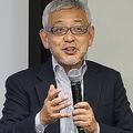「N高」生徒を前に授業する投資家の村上世彰(よしあき)氏