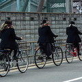 Scarf 3 Bicycle Girls