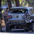 事故直後、現場検証が行われた(撮影:GettyImages)