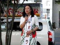 東松山市長選に立候補した東大教授の安冨歩氏