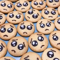 国内外から注目を集める「ぴえんクッキー」がかわいい&おいしそう!レシピも簡単
