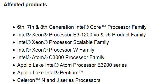 インテル製cpu ファームウェア 更新