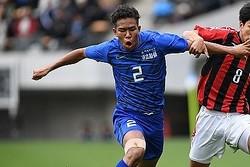 昨年度の第98回全国高校サッカー選手権大会に出場した畑大雅(現湘南)。写真:徳原隆元