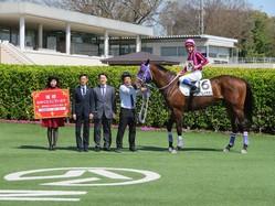 ルーキー・小林脩斗騎手が土曜中山2Rで初勝利!