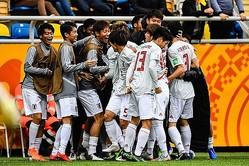グループBを2位で通過した日本 photo/Getty Images