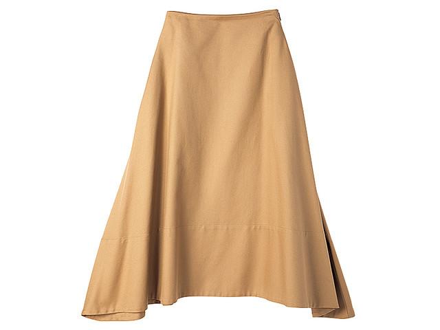 3cdeb264ed0ac ぽっこりお腹を目くらまし⁉ マキシスカートを軽やかに着る小ワザ ...