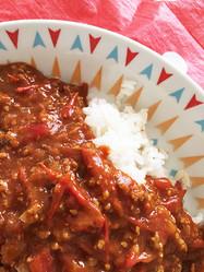 【大量消費に】ミニトマト50個の水分だけで作るトマトカレーが激ウマ!