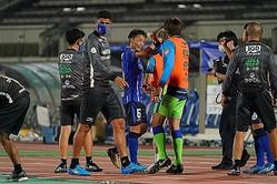 先制点のきっかけを作った山田。試合後には「感謝」の気持ちも述べた。写真:田中研治