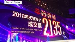 イーライフは中国最大のEC商戦「W11」に向けた販促支援サービスを行う。「W11」では年々、売上高が上昇している。業界最大手の天猫は2018年、11月11日の1日だけで2035億元(約3兆1500億円)の売り上げを記録した。