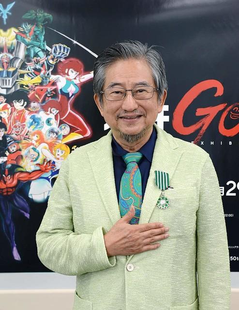永井豪さんに仏勲章 「一生懸命漫画描く」 YouTube動画>1本 ニコニコ動画>1本 ->画像>25枚
