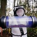米ワシントン州ブレインで駆除されたオオスズメバチ(2020年10月24日撮影)。(c)Elaine Thompson / POOL / AFP