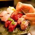 九州に初上陸となった「肉寿司」 お得な記念キャンペーンも実施