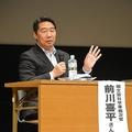 安倍晋三首相の選挙区である下関市で講演会を行った前川氏。多くの聴衆がつめかけた