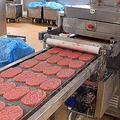 フランスのSEB社が製造する冷凍ハンバーグ(2011年6月16日撮影、資料写真)。(c)FRANCOIS NASCIMBENI / AFP
