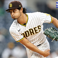 SAN DIEGO, CALIFORNIA - MAY 17: Yu Darvish #11 of the San Diego Padres pitches during the first inning of a game against the Colorado Rockiesat PETCO Park on May 17, 2021 in San Diego, California. (Photo by Sean M. Haffey/Getty Images)