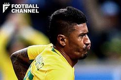 ブラジル代表のパウリーニョ【写真:Getty Images】