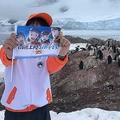 アニメ「宇宙よりも遠い場所」の聖地巡礼 南極上陸者が現れる