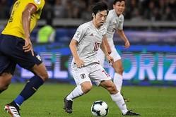 エクアドル戦で1ゴールを決めた中島は、東京五輪オーバーエイジの有力候補だ。(C)Getty Images