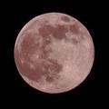 今夜の満月はストロベリームーン
