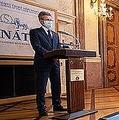 チェコ上院議長ミロシュ・ビストルジル(Milos Vystrcil)氏は19日、記者会見で、蔡英文総統の2期目始動に祝福を述べた(Senat.cz)