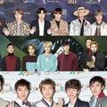 (上から)BTS、EXO、2PM