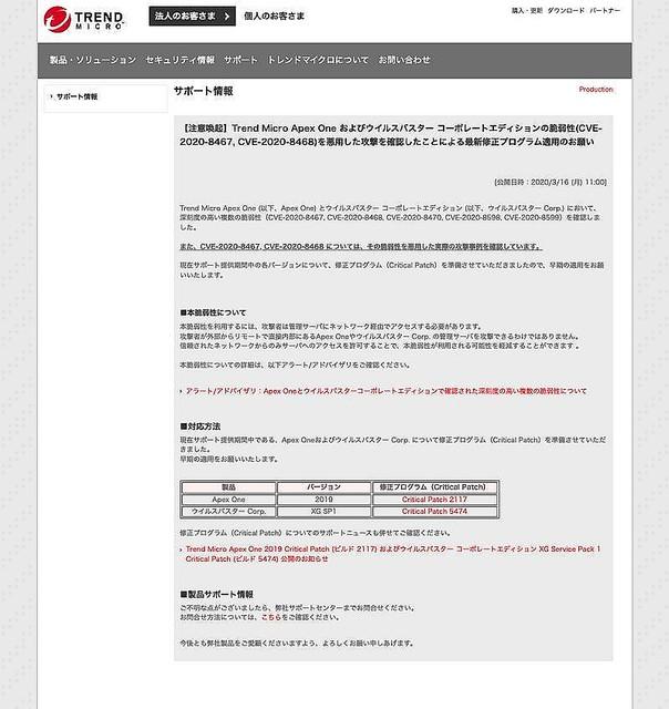 ウイルスバスター ビジネス セキュリティ windows10