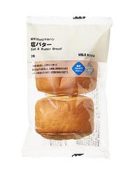 「無印良品」を展開する良品計画が自主回収する「糖質10g以下のパン 塩バター」(同社提供)