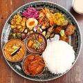 「虎子食堂」の「インド風おせち料理」