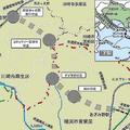 横浜市営地下鉄ブルーラインの延伸区間 概略ルート・駅位置が決定