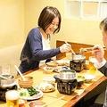「かまどか」が提供する1人前サイズの鍋料理「こなべ」メニュー(同店提供)