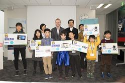 「第2回 NECレノボ キッズ・プログラミングコンテスト」最終審査会・表彰式を開催。「モノづくり」も含めた作品の完成度の高さに審査員からも驚きの声!
