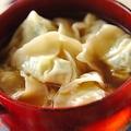 鍋1つで作る「小松菜ワンタン」