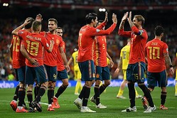 EURO制覇目指すスペイン photo/Getty Images