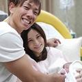 第1子男児出産を報告したはあちゅう氏と夫のしみけん (写真はブログより)