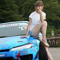 いま大注目の「ドリフト女子」下田紗弥加、世界大会で優勝経験も