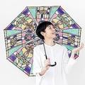 大正時代のレトロな雰囲気を再現「ステンドグラスの傘」発売