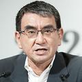 写真は、「湘南国際マラソン」の河野太郎大会名誉会長
