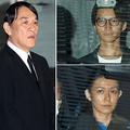 (左から時計回りに)ピエール瀧被告、田口淳之介と小嶺麗奈の両容疑者(C)日刊ゲンダイ