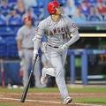 右翼フェンス直撃の3点適時二塁打を放ったエンゼルスの大谷翔平【写真:AP】