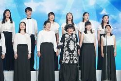 黒柳徹子が母校で櫻井翔と特別授業を行った(C)日本テレビ